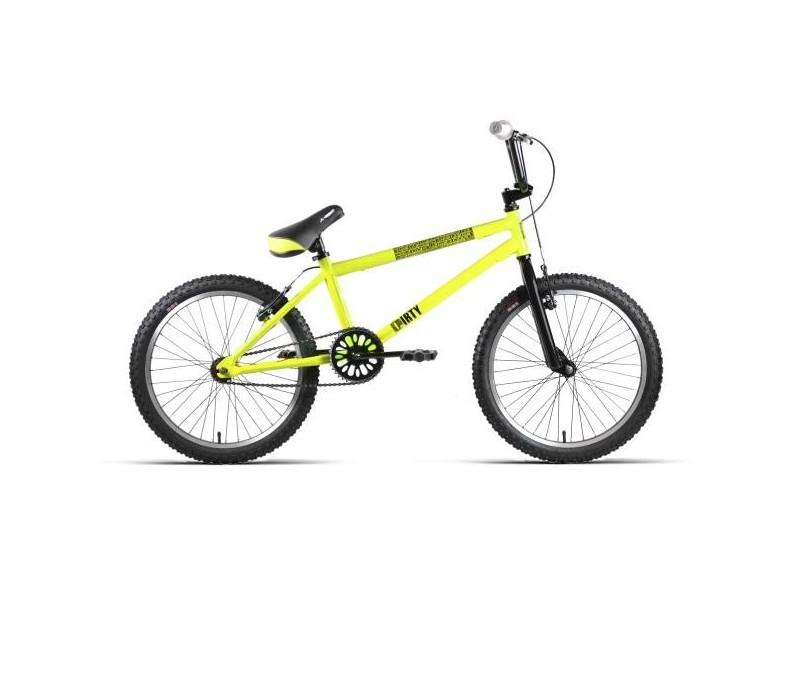 "Bicicleta JL-Wenti BMX 20"" ACERO DIRTY MONOBLOCK"
