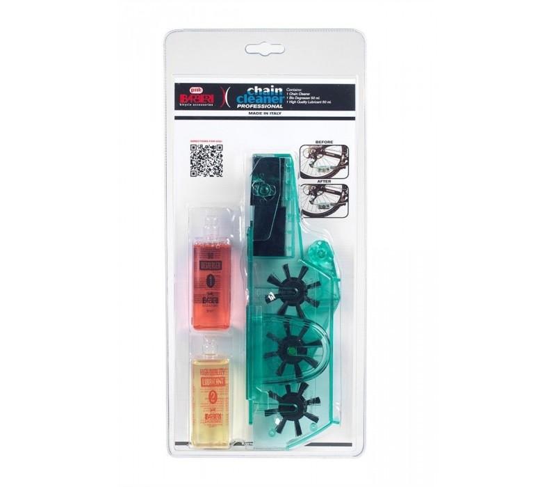 Limpiador de cadena Barbieri Chain Cleaner + desengrasante y lubricante