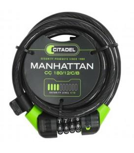 Candado Espiral Combinacion Citadel Manhattan