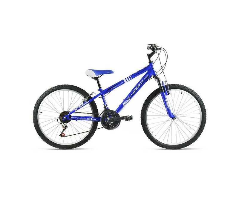 """Bicicleta JL-Wenti 24"""" Niño Suspensión Trigger"""