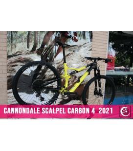 Bicicleta Cannondale Scalpel Carbon 4