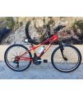 """Bicicleta JL-Wenti 24"""" Niño Suspensión Revoshift"""