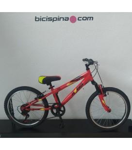 """Bicicleta JL-Wenti 20"""" Niño Suspension 5 Velocidades DELTA"""
