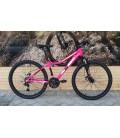 "Bicicleta JL-Wenti 26"" Niña ALU Disc Suspensión Revoshift"