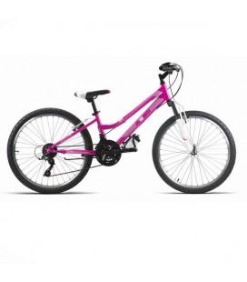 "Bicicleta JL-Wenti 24"" Niña Revoshift+suspension"