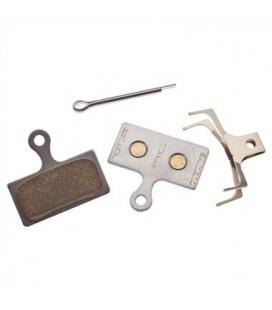 Pastillas de freno metálicas Shimano XTR/ST/SLX/Alfine Metal G04S