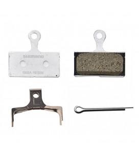 Pastillas de freno resina Shimano XTR/ST/SLX/Alfine Resina G02A