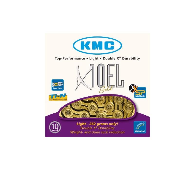 Cadena KMC X10EL Gold