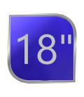 """18"""" (4-6 AÑOS)"""