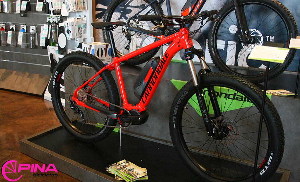 Bicicleta electrica Cannondale