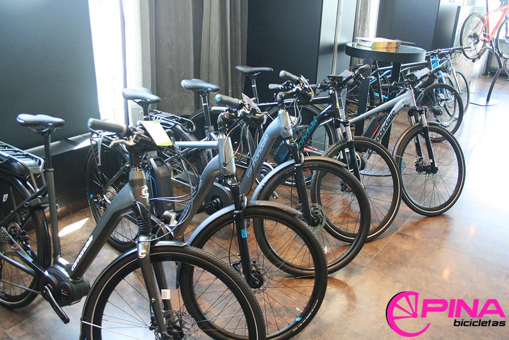 Bicicleta electrica Cannondale 2018