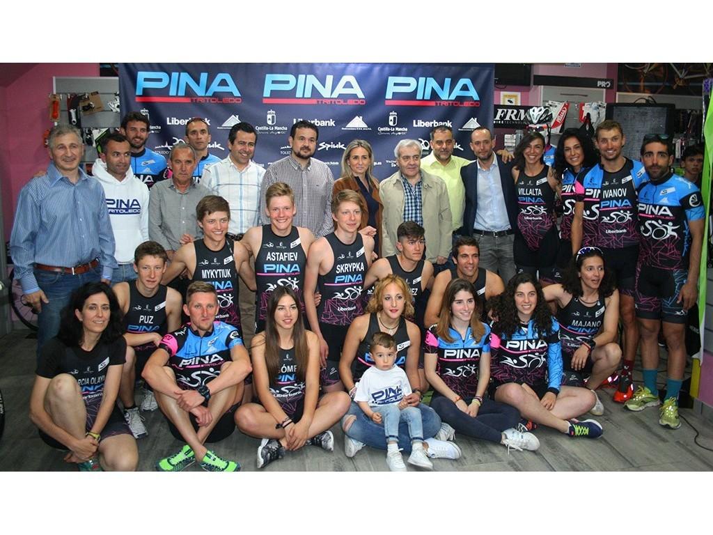 Presentación Bicicletas Pina - Tritoledo 2017