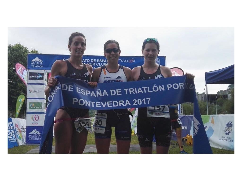 Resultados Bicicletas Pina Tritoledo Campeonato de España de Triatlón por Clubes Pontevedra 2017