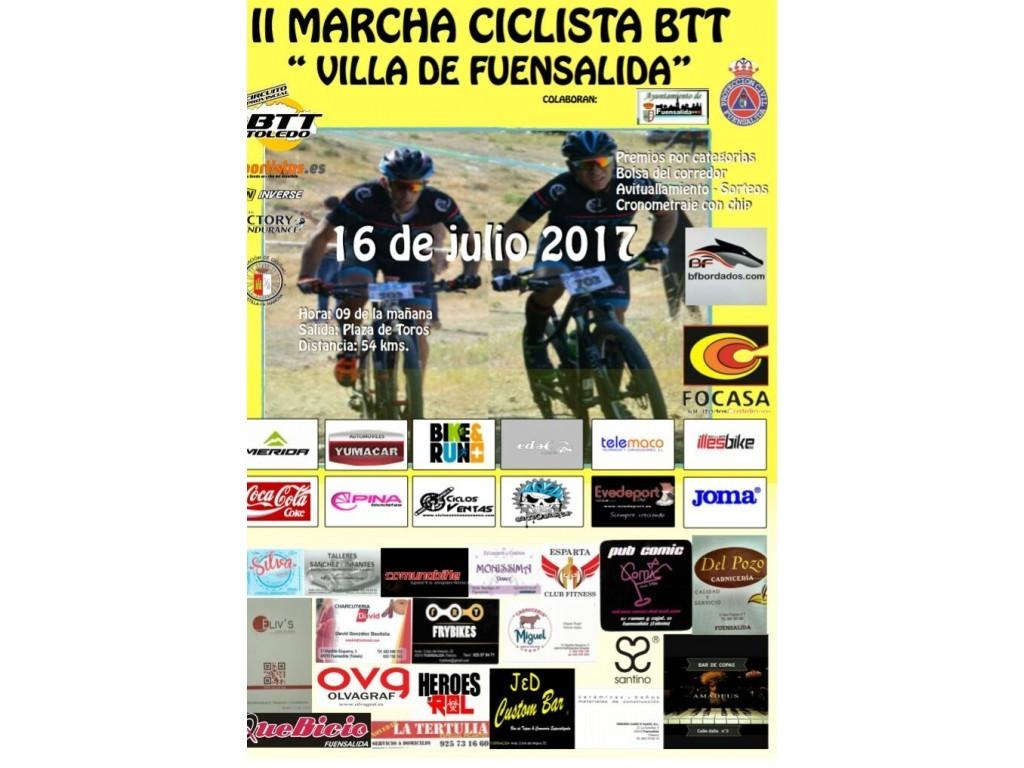 II Marcha Ciclista BTT Villa de Fuensalida