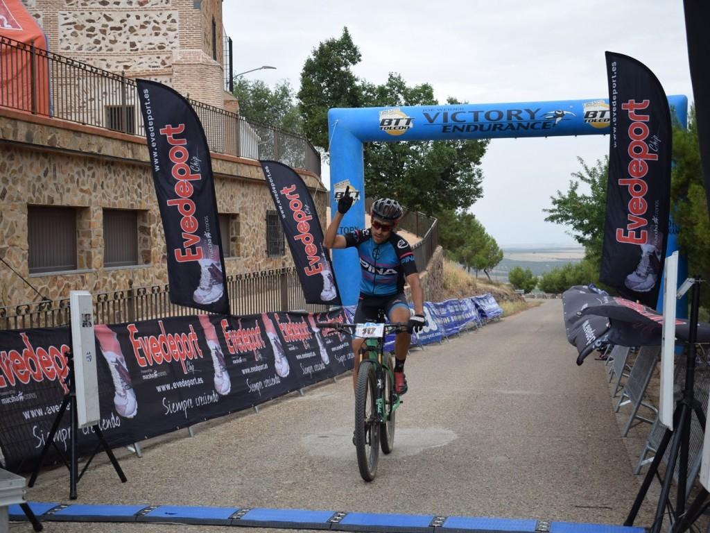 Victoria de Luis Alberto en el Maratón Peñas Negras 2017 en Mora (Toledo)