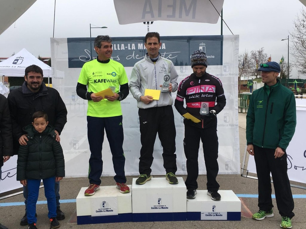 Bicicletas Pina Tritoledo campeones regionales de Duatlón