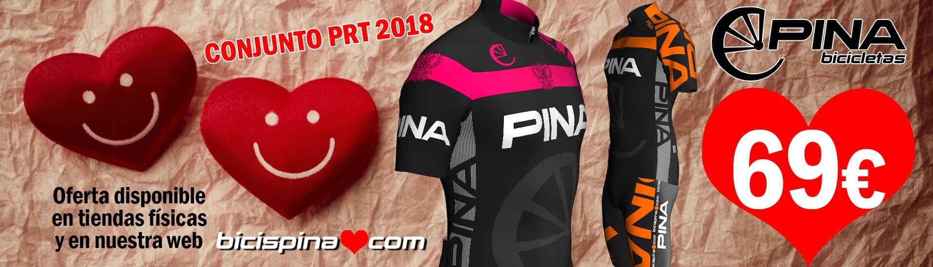San Valentín equipación PRT