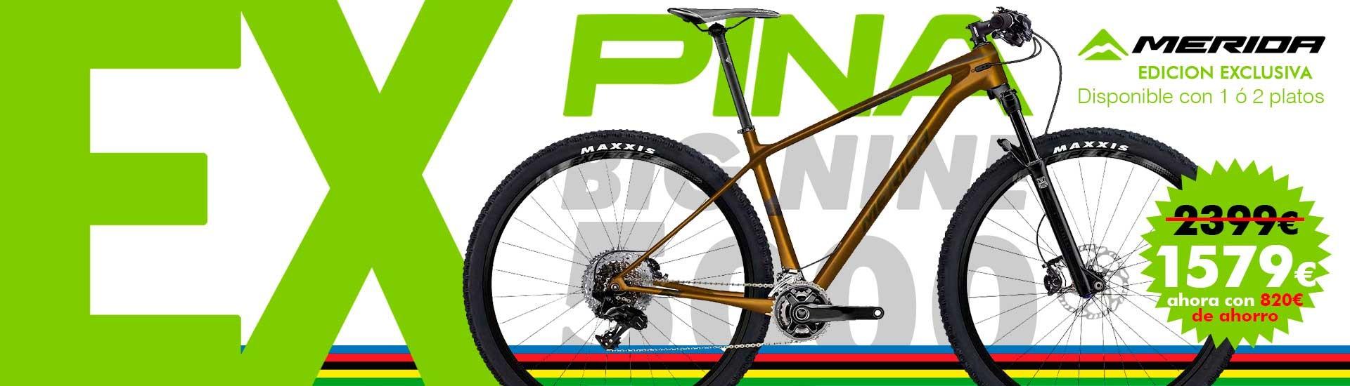 Bicicleta de montaña Merida Big Nine 5000 2019 Exclusiva Bicis Pina