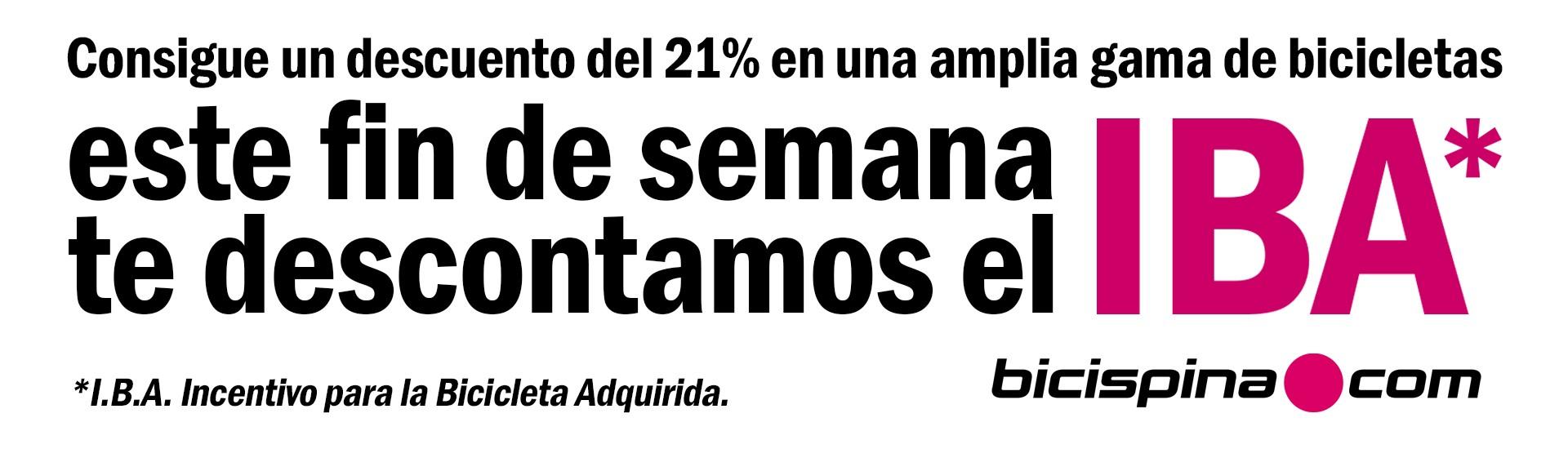 Descuento del 21%, iBa